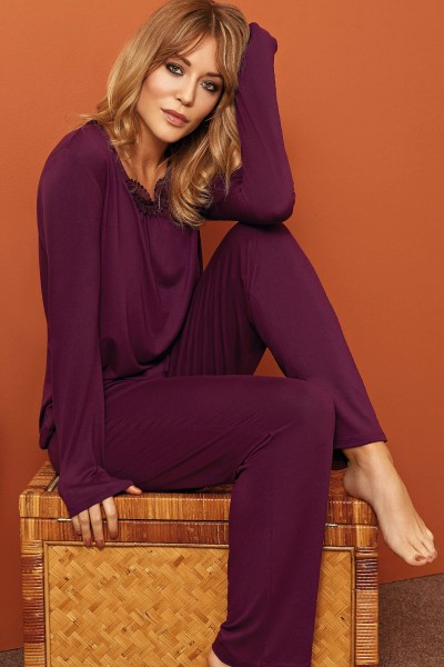»Athina« Long Sleeve Pyjama Set