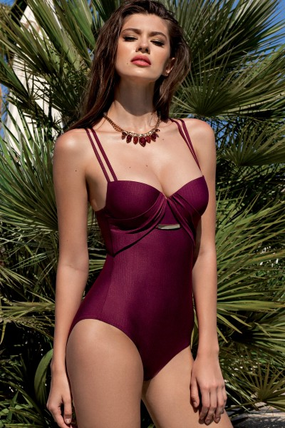 »Bari« Padded One-Piece Swimsuit