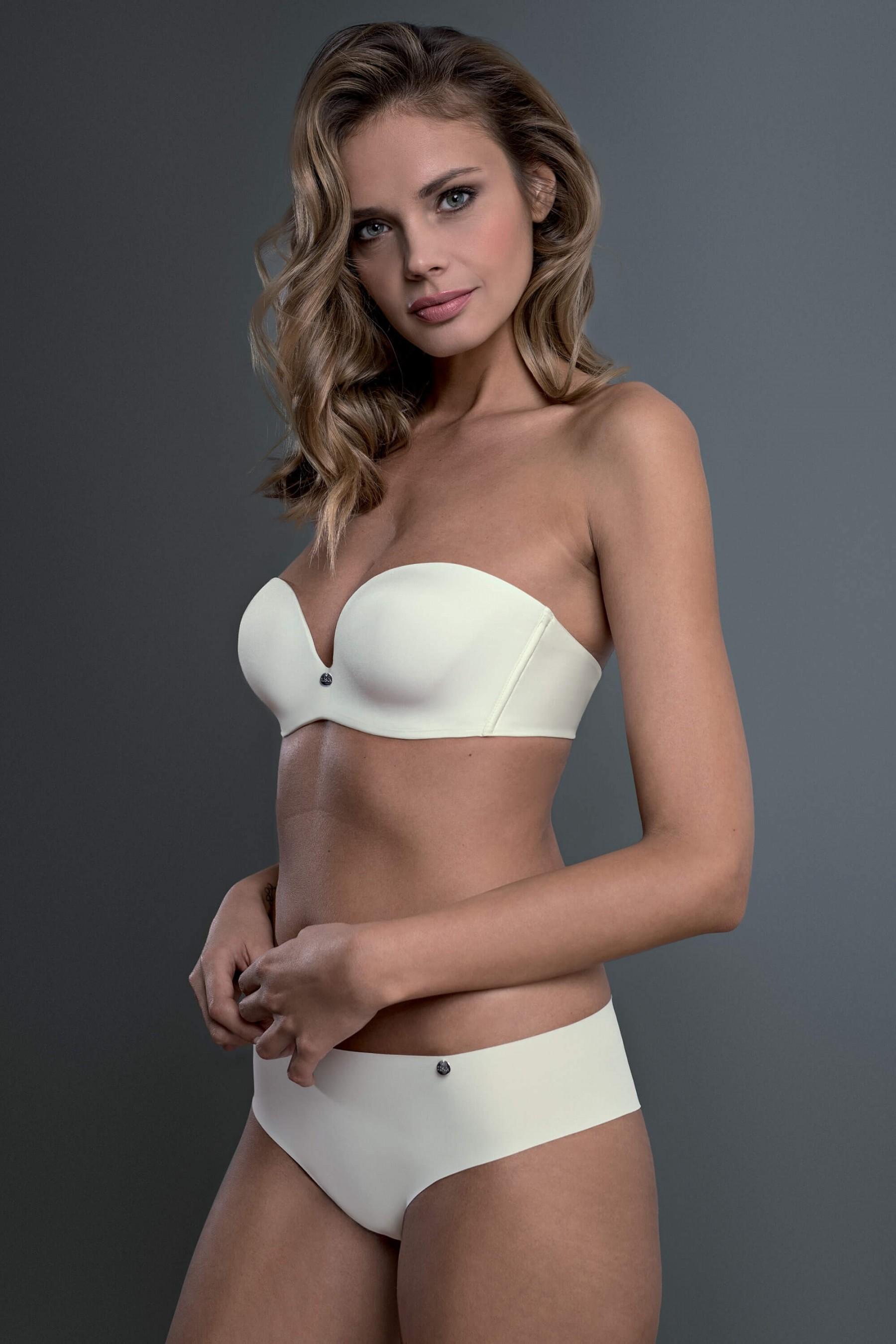 7b3713f49a »Bella« Underwired Strapless Bra - WOMEN - LINGERIE - Lisca e-shop