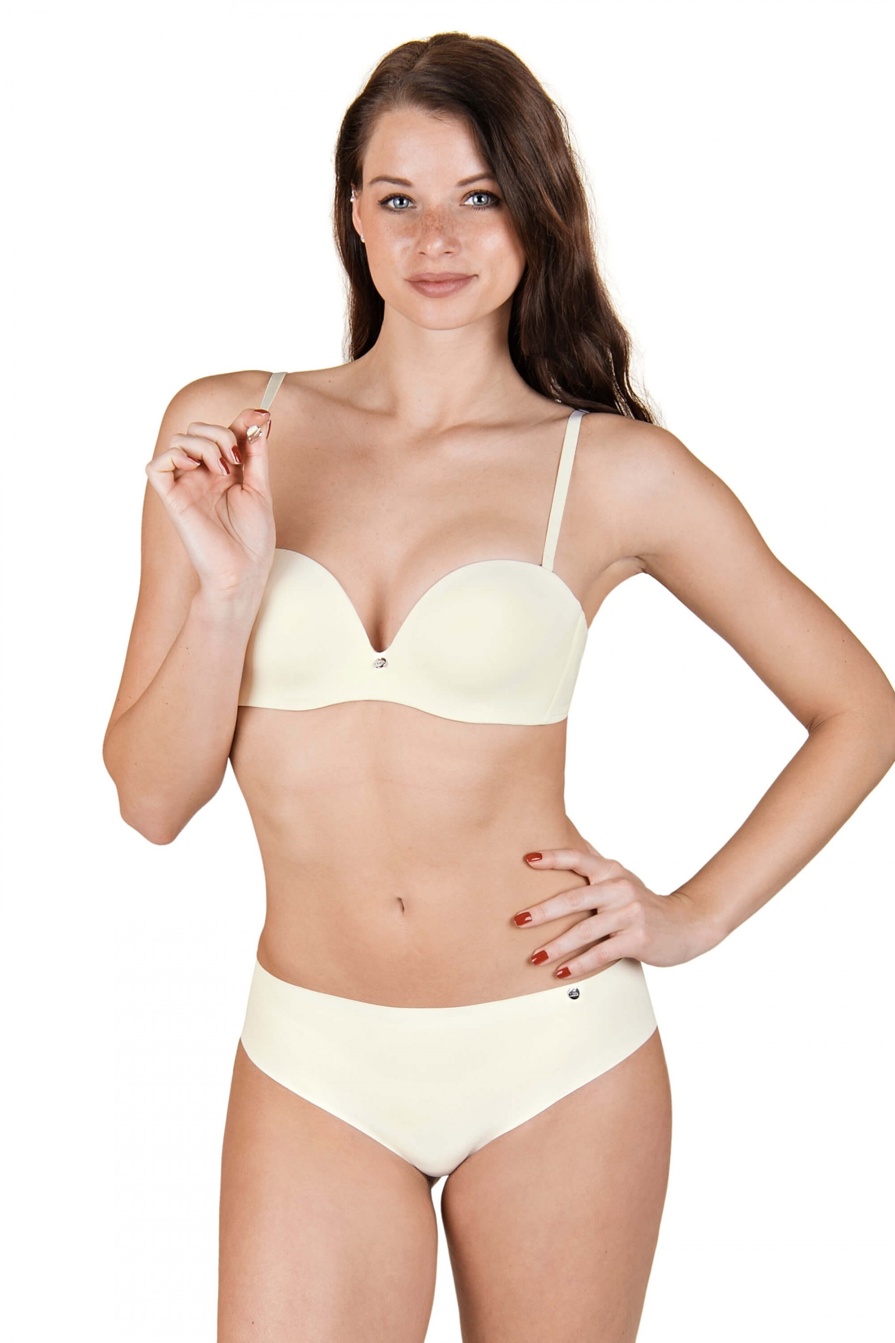 216d68b3fb Bella« Underwired Strapless Bra - WOMEN - LINGERIE - Lisca e-shop