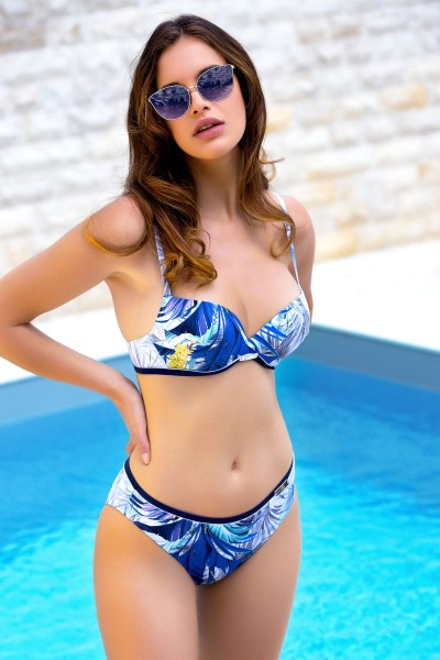 """Ensenada"" Push-Up Bikini Top"