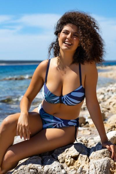»Tahiti« Drawstring Bikini Bottoms