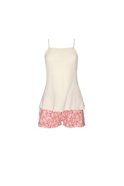 »Limitless« Pyjama set with top and shorts