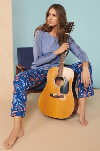 »Mellow« Long-sleeved Pyjamas