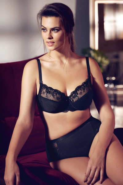 """Caroline"" Underwired Bra - F and G Cup"