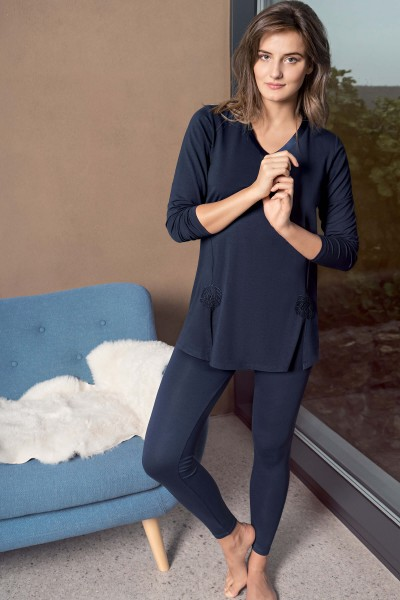 »Celine« Pyjama tunic and leggings