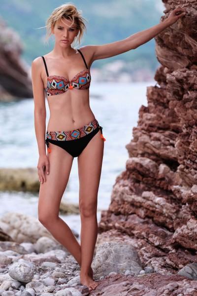 """""""Haiti"""" Padded Bikini Top"""