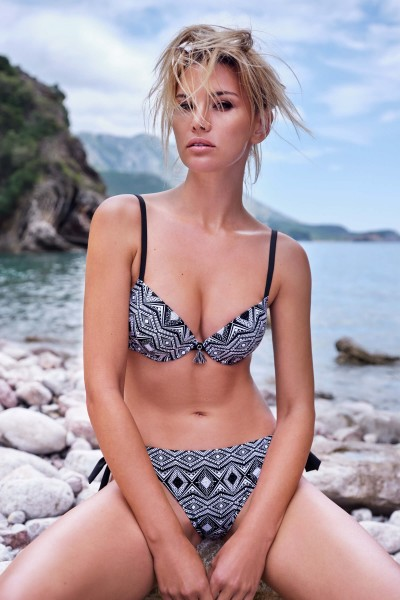 """Haiti"" Push-up Bikini Top"