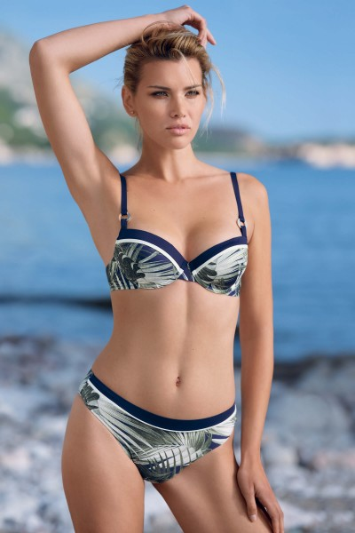 """Buenos Aires"" Padded Bikini Top"