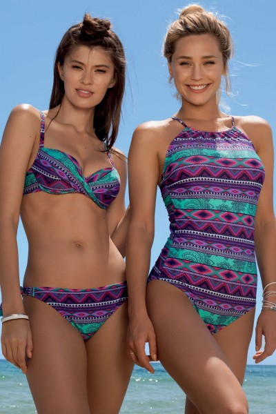 »Casablanca« High-neck One-Piece Swimsuit