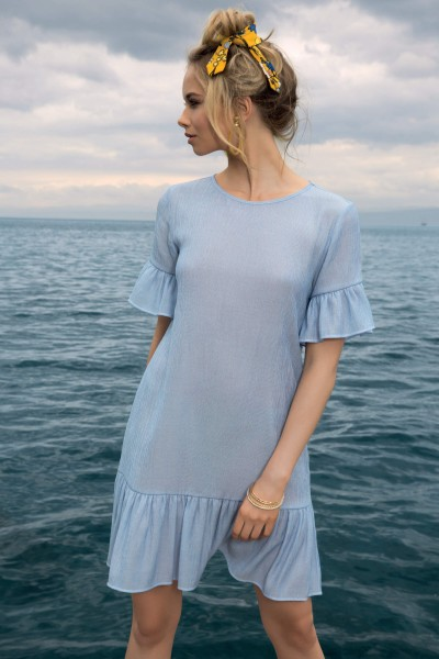 »Jeans Mix« Beach Dress