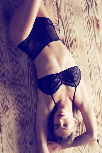 »Kiss Me« High-waist Brazilian briefs