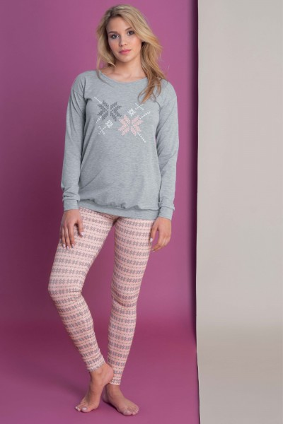 »Nordic Fun« Pyjama tunic and leggings