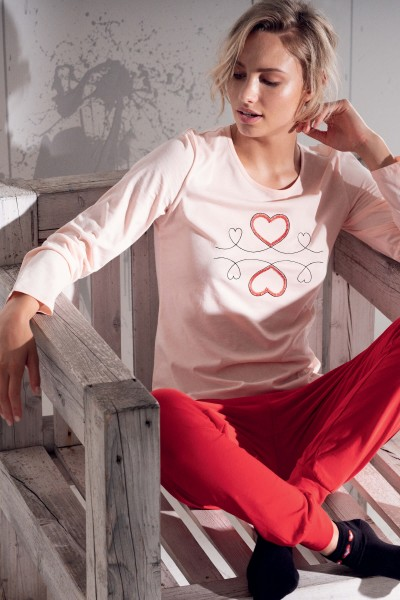 »Sweet Love« Pyjama sweatshirt and bottoms