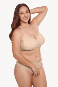 »Ivonne« Non-wired T-Shirt Bra – F Cup