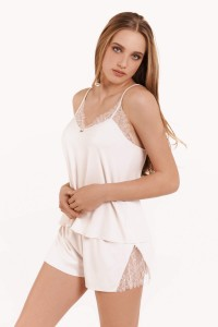 »Rose« Top and French Briefs